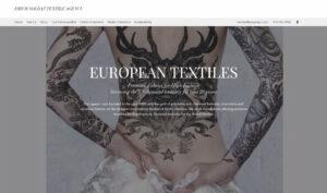 european textiles - digital business landscape