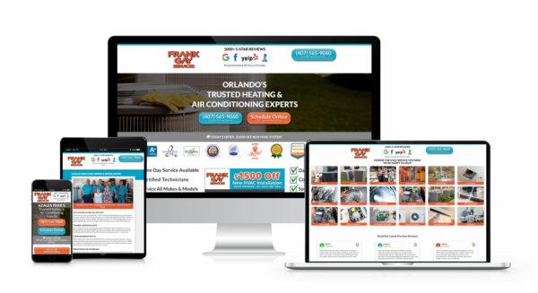 medium sized business website